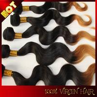 Cheap Malaysian Hair peruvian omber hair Best ombre hair  body wave hair
