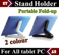 DHL-10PCS universel Portable pliable Stand Holder pour Apple iPad Mini Kindle Fire Galaxy Tab Q88 8650 CEPHAS-1