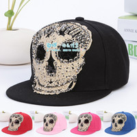Wholesale Discount South Korea s fashion fabric hip hop street dancing skateboard ghost Flat hat Snapback caps