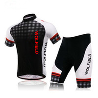 Wholesale WOLFBIKE Cycling Jersey Sets Bicycle Bike Cycling Jersey Cycling Clothes Outdoor Sportswear Shorts Shirts Tops Pants Tights Set