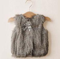 Wholesale Sweater Vest Girl Clothes Children Sweaters Fashion Kids Vest Child Sweater Girls Sweaters Children Vest Knitted Sweaters Children Clothing