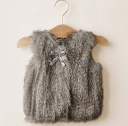 Wholesale Sweater Vest Girl Clothes Children Sweaters Fashion Kids Vest Child Sweater Girls Sweaters Children Vest Knitted Sweaters Children Clothing