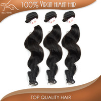 "Malaysian Hair Loose Wave Under $50 25% off Virgin Remy Hair Weave Indian Malaysian Brazilian Peruvian European 12""-28"" Unprocessed 3pcs Hair Bundles Loose Wave Free Shipping"