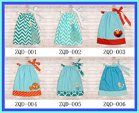 Wholesale 2014 Fashion Size catroon Girls dresses Latest Cotton Pillow dress Baby Pillowcase dresses