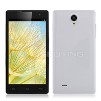 WCDMA other Android JK11 Smartphone MTK6582 Quad Core 1.3GHz Android 4.2 3G GPS 5.0 Inch - Black White #1200075-retail