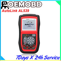 Code Reader automotive electrical testing - Auto Link AL539 OBDII Electrical Test Tool Al with Excellent Quality