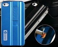 Wholesale Hot selling Lighting Lighter Cigarette Fire Case Cover For iphone s iPhone s Brand Genuine Colors in Stock
