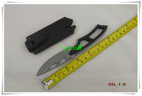 Wholesale 3pcs Survival Knife SW SW990 Sentinel Steel Knife Whistle Knife Hunting Silver A271
