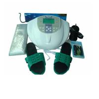 Detox Foot Spa  best foot bath massager - DHL Detox Machine Best Price Ion Cleanse Detox Foot Spa with Massage Slice Wrist Belt Foot Bath SPA AH