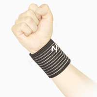 Wrist Support Black Adult Best Wrist Brace Straps Elastic Support Pad UNISEX Weight Lifting Gym Sports Exercise Arthritis Basketball Tennis