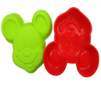 Wholesale Mickey Minnie Mouse Silicone Cake Chocolate Soap Candle Pan Mold Tray Drop Shipping WH24