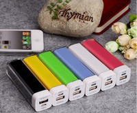 Wholesale 2600mAh Portable Lipstick Power Bank External Backup Battery Banks Charger Emergency Power Pack for all Mobile Phones Read Description