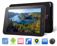 Wholesale inch Tablet PC Phablet Quad Core Android G G Call Support OTG USB WIFI GPS Bluetooth Tablet PC