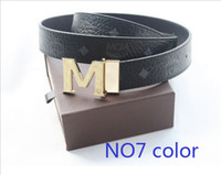 Belts mcm 2013 - 2013 Super deal NEW MCM Belt Cool Belts for Men and Women dress belts M Shape Metal strap Ceinture Buckle