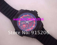 Casual mens sapphire ring - Lowest Price Top brand racing Mens Automatic Chronograph Swiss Eta Movement Ceramic ring mm Sport Watches Sapphire rubber black