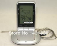 Wholesale Remote Wireless Cooking Thermometer BBQ Grill Thermometer Digital Meat Thermometer With Timer Function Model