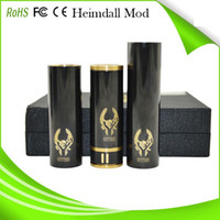 Cheap Philippines mod 1:1 clone black heimdal Nemesis Mod Stingray Mod Chi You Mod high quality original e cigarette Black mechanical heimdall mod