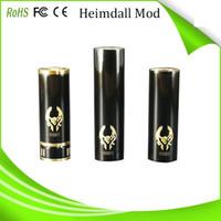 Cheap newest design e cigarette heimdall mechanical mod Stingray Mod Chi You Mod high quality original e cigarette Black mechanical heimdall mod
