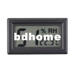 Wholesale Mini Digital LCD Indoor Temperature Humidity Thermometer Hygrometer Meter