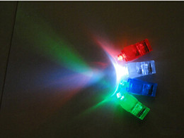 Wholesale 5000pcs Evening Party Lights Color LED Bright Finger Ring Beam Lights Glow Fast delivery by UPS