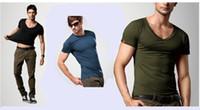 Men Modal Polo Fashion High-quality Men's Outdoor Sports Fitness T-shirt Ice silk modal shirt Underwear Men Backing Spring Summer Free Shipping