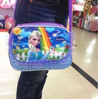 Wholesale New frozen girl girls should bag bags mix designs