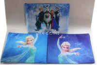 Wholesale Frozen document bag Filing Products file pocket Kids Anna Elsa Bag children school bag kids birthday present CM