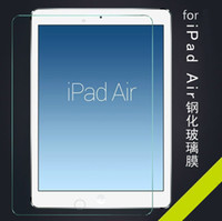 Wholesale Anti shatter Tempered Glass Protective Screen Protector For ipad ipad mini air PRO quot with retail package MOQ