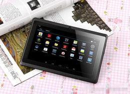 Wholesale Allwinner A33 Q88 bluetooth Dual core chips Android A33 Tablet PC G cpu GB of storage