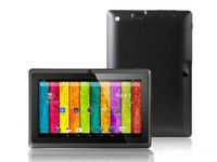 Wholesale Allwinner A23 Q88 Dual core chips Android inch capacitive A23 Tablet PC G cpu GB of storage