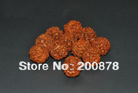 Bead Caps Fashion Beads TSB0308 Kingkong Bodhi seeds Mala loose beads,9mm,Natural Plant Seeds wooden rosary beads,100beads lot
