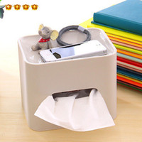 Immersion 0 Nachuan 7452 Nachuan home simple solid color plastic paper towel rolls pumping cassette compartment tray wholesale multifunction