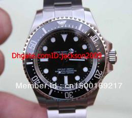 vente Hot bas hommes Prix AAA + luxe Certified Pre-Owned pse Dee une montre Sea-Dweller 116660 44MM BKSO automatique à partir de pré en propriété fabricateur