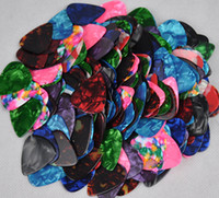 Wholesale of Medium mm Blank guitar picks Plectrums Celluloid Assorted Colors