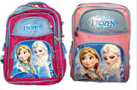 backpacks for middle school - hot sell children school bags frozen backpack Anna Elsa olef for Middle school students p l