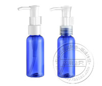 Yes plastic shampoo bottles - ML lotion pump bottles of blue plastic shampoo bottle empty small cosmetic oil container
