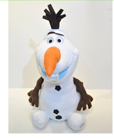 Wholesale 3pc NEW cm Frozen Lovely OLAF the Snowman Plush Doll Stuffed Toy gifts for Children