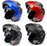 full face helmet - MOTO Undrape Face Helmets JIEKAI open face helmet Full Face helmet Motorcycle Helmet motorbike motocross helmet colors size M L XL XXL