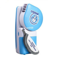 battery powered hand fans - 2014 World Cup Novelty USB Fan Portable Mini Hand Held Handy USB Battery Power Dual Use Mini Air Conditioner Cooler Fan