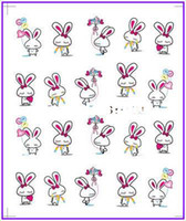 Wholesale Nail Art Water Transfers Stickers Nail Decals Stickers Water Decal Easter Day Easter Bunny Easter Egg