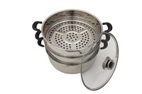 Wholesale CONCORD Stainless Steel Tier Steamer Steam Pot Cookware cm