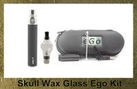 Cheap Single Skull Wax Glass Best Black Metal Dry Herb