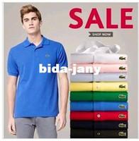 Men basic business - Pure cotton short sleeve T shirt man collar men and women T shirt business and leisure travelers