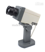 Wholesale Home Surveillance Security Dummy IR Simulation Fake Camera Waterproof LED Flashing F2105B