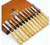 Cutting Tools carpenter tools  Free shipping High quality 12 PC wood Carving Chisel Tool set, carpenter tools, carving knives,