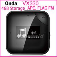 Wholesale ONDA VX330 MP3 Player GB Memory FM Redio Voice Recorder E book Reading APE FLAC Build in speaker