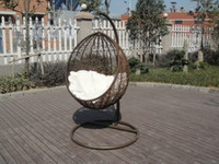 Wholesale 2014 Hotsale Mordorn Outdoor Rattan Furniture Cafe Swing Chair