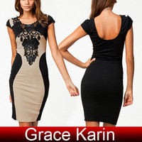 Free Shipping GK Occident Women Fashion Slim Fit Backless La...
