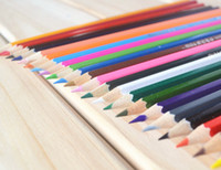 Wholesale 24 Colors Water Pencil Set Colour Pencil Drawing Pencil for Kids Gifts WJ1406