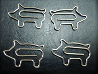 Wholesale Pig Animal Shaped Paper Clip mm x mm